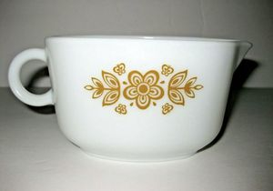 Vintage Pyrex # 77-B Corning Butterfly Gold Gravy Sauce Boat Pitcher for Sale in Tacoma, WA