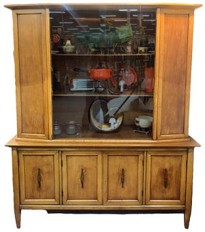 Large Mid Century China Cabinet Display for Sale in Lewisville, TX