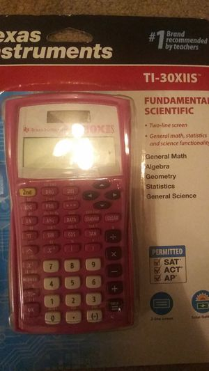 Texas Instruments TI-30XIIS 2-Line Scientific Calculator Pink - NEW for Sale in Boiling Springs, SC