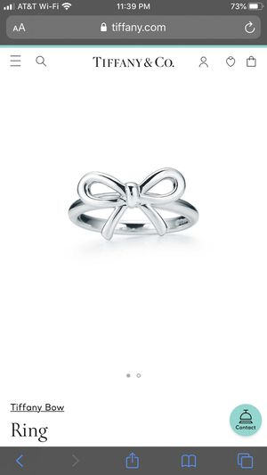 Tiffany bow ring for Sale in Anaheim, CA