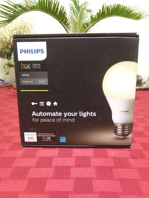 Philips hue smart lights stafter kit new for Sale in Anchorage, AK