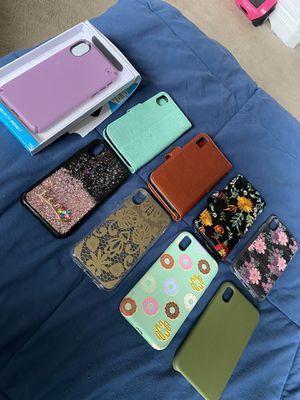 iPhone X cases wallet cases $8 regular $5 for Sale in Denver, CO