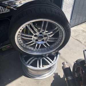 BBS rims with tires for Sale in Long Beach, CA