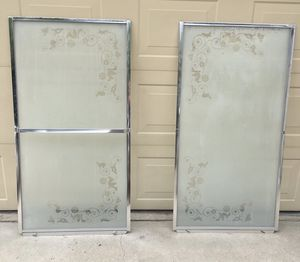 Frosted Glass Shower Doors for Bath Tub for Sale in Fresno, CA