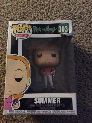 Summer from Rick and morty funko pop for Sale in Encino, NM