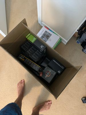 Box of computer parts for Sale in Carlsbad, CA