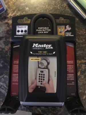 Master lock safe space lock box for Sale in Whitestown, IN