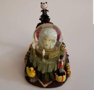RARE 2003 Nightmare Before Christmas Haunted Mansion Holiday Scary Teddy Mini Snowglobe Sculpture for Sale in Hillsboro, OR