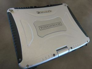 Panasonic toughbook - police military construction for Sale in Los Angeles, CA