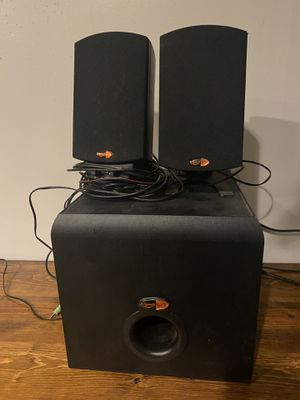 Computer speakers and subwoofer for Sale in Maryland Heights, MO