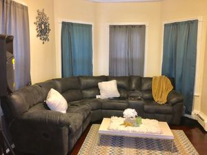 Reclining Sectional Couch for Sale in Boston, MA