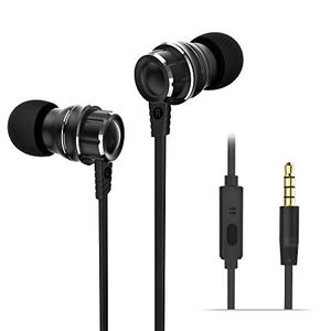 New In Ear Headphones – 3D Wired Earphones, 4 Drivers Metallic Stereo Earbuds, IPX5 Water Resistant Headsets, Noise Isolating, Enhanced Bass, Microph for Sale in Los Angeles, CA