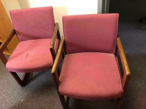 Cushioned office chairs for Sale in Morrisville, VT
