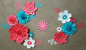 Paper flowers decoration for Sale in Brentwood, NC