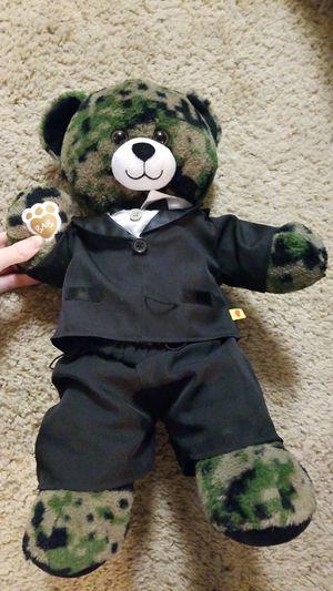 Marine Build a bear teddy for Sale in North Las Vegas, NV