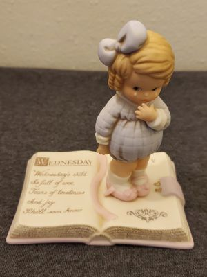 """Memories of Yesterday """"Wednesday Child"""" by Enesco for Sale in Falls Church, VA"""