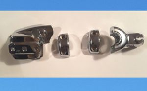 New Chrome Cover Set For Harley Davidson Motorcycle Kuryakyn 7807-0031 Chrome Break & Clutch Control Dress Up Kit for Sale in Hollywood, FL