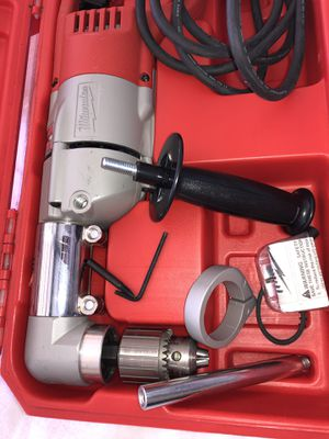 Milwaukee 7 Amp Corded 1/2 in. Corded Right-Angle Drill Kit with Hard Case for Sale in Palmdale, CA