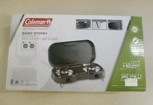 NEW CAMPING SET COLEMAN chairs, tent, stove, lantern! for Sale in West Los Angeles, CA