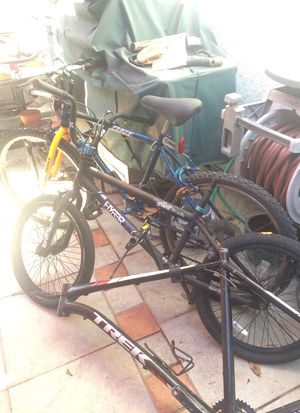 TWO Bikes And A Trek Frame for PARTS for Sale in Long Beach, CA
