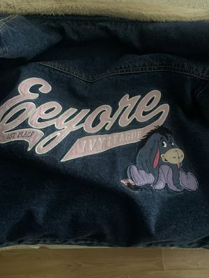 Eeyore heavy thick jacked medium like new $125 obo for Sale in Los Angeles, CA