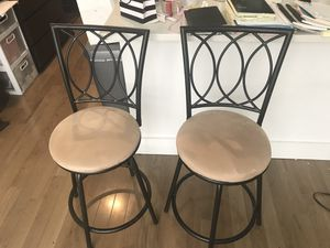 Bar stools x 2 for Sale in Brooklyn, NY