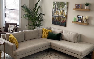 Brand New! West Elm Andes 2-Piece Terminal Chaise Sectional for Sale in Chicago,  IL