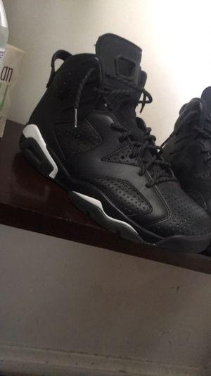 """Jordan retro 6 """"black cat"""" size 10 for Sale in Kenosha, WI"""