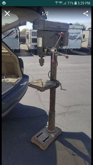 Industrial drill press 16 speed belt drive heavy duty for Sale in Tracy, CA