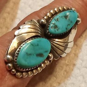 Vintage Sterling Silver & Turquoise Ring for Sale in El Paso, TX