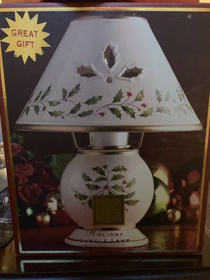 Lenox holiday candle lamp for Sale in Boynton Beach, FL