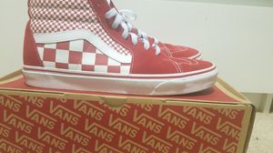 High top red checkered Van's 11.5 mens for Sale in Portland, OR