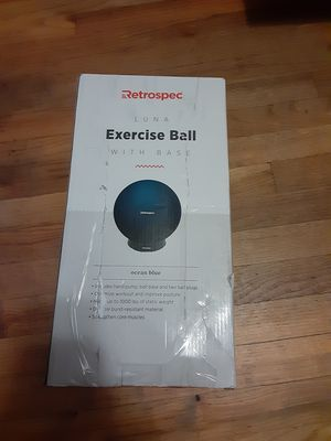 exercise ball with pump for Sale in Citrus Heights, CA