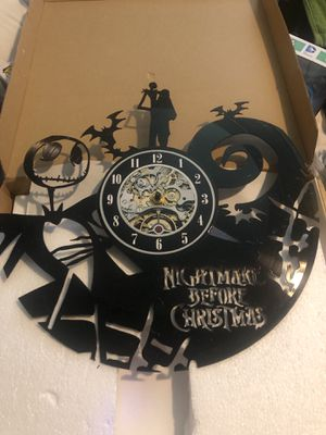 Record clock the nightmare before Christmas for Sale in Lakeside, CA