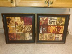 2 Nice Pictures for Kitchen Decor for Sale in Salt Lake City, UT