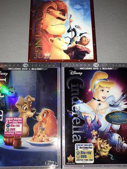 Disney Diamond Edition Movies for Sale in El Paso,  TX