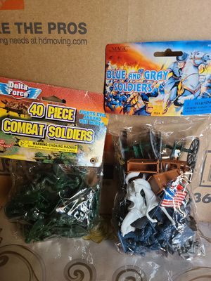 Combat soldiers toys for Sale in Thousand Oaks, CA