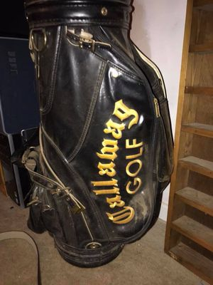 Vintage Callaway golf bag, Wilson clubs and Bob Toski Irons for Sale in Raleigh, NC