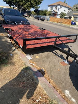 Utility trailer, flat bed trailer for Sale in National City, CA