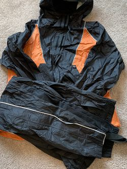 Harley-Davidson Reflective Rain Suit - Size Large for Sale in Bonney Lake,  WA