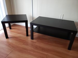 Brown Black coffee and side tables for Sale in Winter Park, FL
