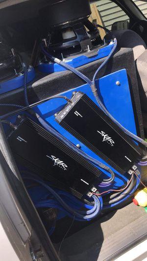 """2 skar 12"""" vxfs 3000watt rms and 2 skar Rp 2000.Ds for Sale in Detroit, MI"""