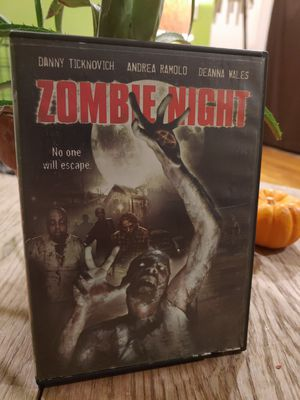 Z-list direct to disc zombie movie, Zombie Night for Sale in South Pasadena, CA