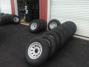 St professional grade trailer tires and wheels for Sale in Kodak, TN