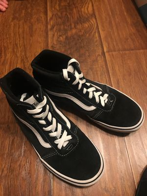 High top vans size 7 clean for Sale in San Ramon, CA