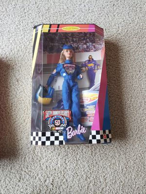 50th anniversary nascar barbie for Sale in Tigard, OR