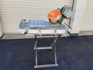 MK 101 Tile Saw with Stand for Sale in McCandless, PA