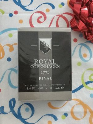 "FIRM $60.00 ""1775 RIVAL"" For Men By Royal Copenhagen EDT Spray, New, Sealed for Sale in Manor, TX"