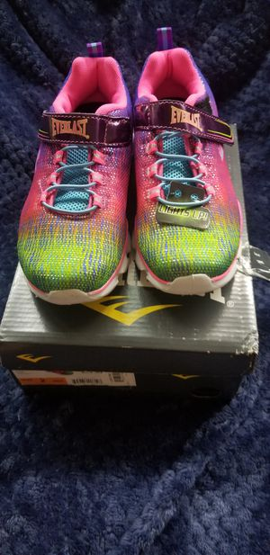Girls light up shoes size 2 for Sale in Rancho Cordova, CA
