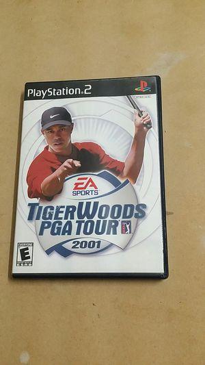 Tiger Woods PGA Tour 2001, PS2 for Sale in El Cajon, CA
